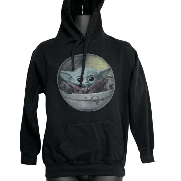 Star Wars Baby Yoda Pullover Hoodie Sweatshirt S
